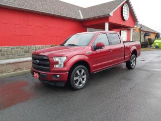 Used 2017 Ford F-150 Lariat for sale in Cornwall, ON