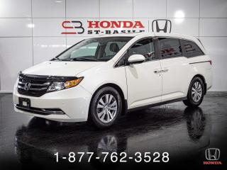 Used 2014 Honda Odyssey EX-L + CUIR + NAVI + 8 PLACES + WOW! for sale in St-Basile-le-Grand, QC
