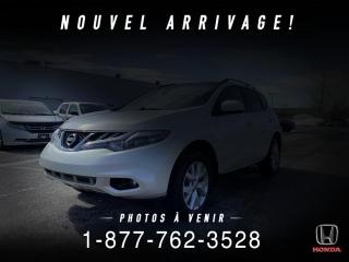 Used 2013 Nissan Murano SL + AWD + CUIR + TOIT + WOW! for sale in St-Basile-le-Grand, QC