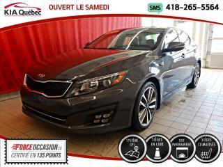 Used 2014 Kia Optima SX* TURBO* GPS* CECI EST UN 2015* for sale in Québec, QC