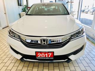 Used 2017 Honda Accord EX-L|R/CAMERA|BLIND SPOT|LEATHER|ACC|LKA|LDW for sale in Brampton, ON