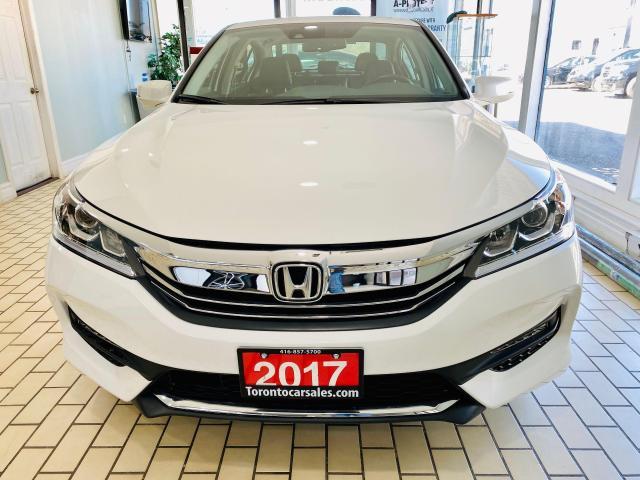 2017 Honda Accord EX-L|R/CAMERA|BLIND|LEATHER|ACC|LKA|LDW