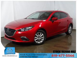 Used 2016 Mazda MAZDA3 |GS SPORT|SIEGCHAUF|REGVIT|BLUETOOTH|CAM|MAG| for sale in Drummondville, QC