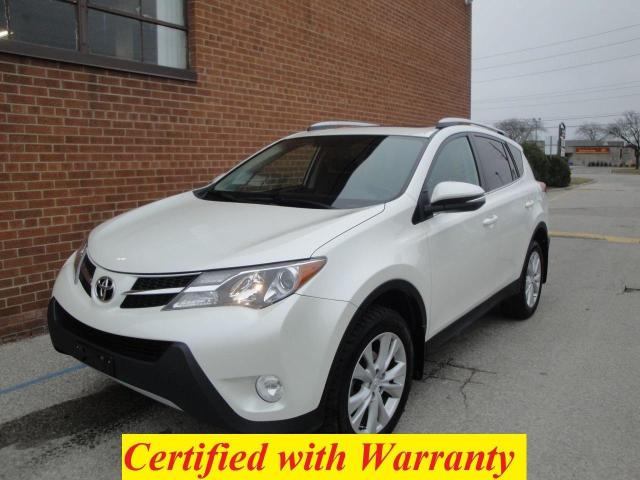 2015 Toyota RAV4 ONE OWNER/LIMITED /AWD