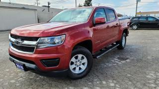 Used 2016 Chevrolet Colorado 4WD WT|BackUp Cam|HTD Seats|Bluetooth|Clean Carfax for sale in Bolton, ON