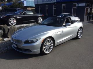 Used 2011 BMW Z4 sDrive35i for sale in Parksville, BC