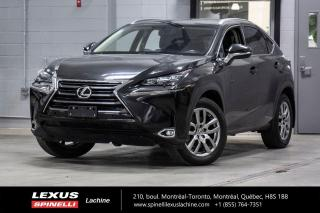Used 2017 Lexus NX 200t LUXURY AWD; CUIR TOIT GPS ANGLES MORT MAGS NAVIGATION - CAMÉRA DE RECUL - SONAR STATIONNEMENT for sale in Lachine, QC
