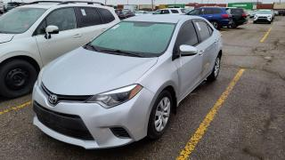 Used 2015 Toyota Corolla LE Backup Cam Bluetooth Keyless Entry PW PL for sale in Bolton, ON