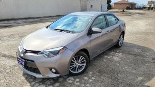 Used 2015 Toyota Corolla LE|Backup Cam|Sunroof|Bluetooth|HTD Seats|Alloys for sale in Bolton, ON