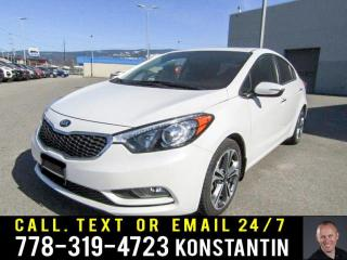 Used 2015 Kia Forte SX for sale in Kelowna, BC