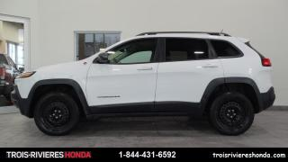 Used 2014 Jeep Cherokee TRAILHAWK + 4X4 + CUIR + MAGS ! for sale in Trois-Rivières, QC