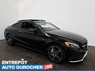 Used 2017 Mercedes-Benz C-Class AMG C 43 BITurbo AWD NAV - Toit Ouvrant for sale in Laval, QC