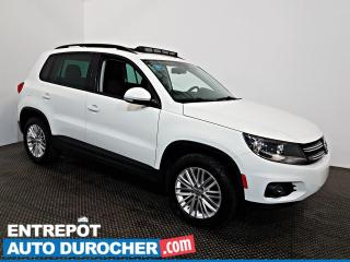 Used 2016 Volkswagen Tiguan AWD TOIT OUVRANT - A/C - Sièges Chauffants for sale in Laval, QC