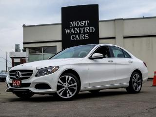 Used 2017 Mercedes-Benz C 300 4MATIC|NAVIGATION|BLIND|PANO SUNROOF|CAMERA|LEATHER for sale in Kitchener, ON