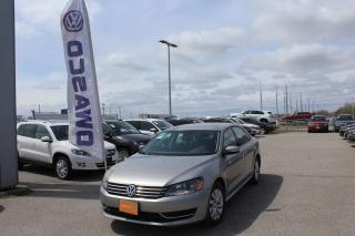 Used 2013 Volkswagen Passat 4DR SDN 2.5L AUTO TRENDLINE for sale in Whitby, ON