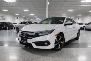 Used 2016 Honda Civic TOURING I NAVIGATION I REAR CAM I LEATHER I SUNROOF I BT for sale in Mississauga, ON