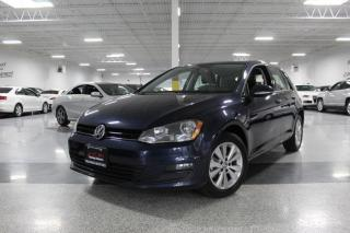 Used 2015 Volkswagen Golf NO ACCIDENTS I LEATHER I SUNROOF I BIG SCREEN I REAR CAM for sale in Mississauga, ON