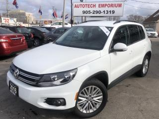 Used 2016 Volkswagen Tiguan Special Ed. 4Motion AWD/Camera/Bluetooth/Htd Sts&GPS* for sale in Mississauga, ON