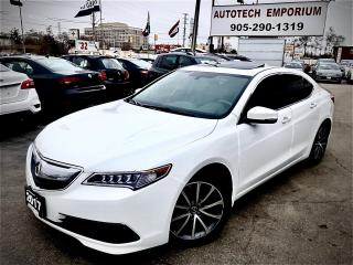 Used 2017 Acura TLX SH-AWD Prl White Leather/Sunroof/Heated Seats/BT&GPS* for sale in Mississauga, ON