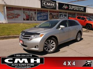 Used 2015 Toyota Venza AWD  AWD 4DR WAGON PWR-GRP REAR-CAMERA for sale in St. Catharines, ON