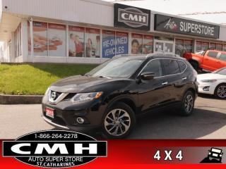 Used 2015 Nissan Rogue SL  AWD LEATH ROOF CAM P/SEAT HS BT for sale in St. Catharines, ON