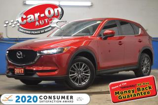 Used 2017 Mazda CX-5 GS AWD LEATHER SUNROOF REAR CAM HTD SEATS LOADED for sale in Ottawa, ON