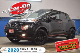 Used 2016 Nissan Juke SL AWD TURBO LEATHER NAV SUNROOF REAR CAM HTD SEAT for sale in Ottawa, ON