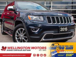 Used 2015 Jeep Grand Cherokee Limited >> 4 NEW TIRES >> ACCIDENT FREE !! for sale in Guelph, ON