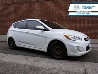 Used 2015 Hyundai Accent GLS | LOCAL TRADE IN | SUNROOF | HATCHBACK | NEW FRONT BRAKES  - $67 B/W for sale in Brantford, ON