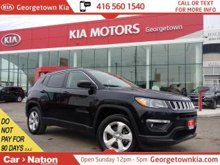 Used 2018 Jeep Compass North 4x4 | LEATHER TRIM | BLUETOOTH | 4 CYL | for sale in Georgetown, ON