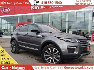 Used 2016 Land Rover Evoque HSE  PANO ROOF  P/GATE  BU CAM LANE DEP  HTD SEATS for sale in Georgetown, ON