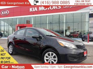 Used 2015 Kia Rio LX+   ONE OWNER   HTD SEATS   BLUETOOTH   for sale in Georgetown, ON