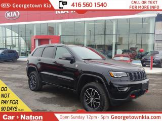 Used 2017 Jeep Grand Cherokee Trailhawk | 4X4 | V6 | NAVI | PANO ROOF | LEATHER for sale in Georgetown, ON