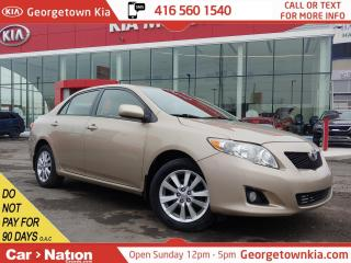 Used 2009 Toyota Corolla LE | ALLOYS | PUSH START | FOGS | POWER OPTIONS for sale in Georgetown, ON