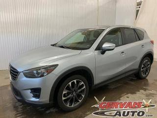 Used 2016 Mazda CX-5 GT AWD Mags GPS Cuir Toit ouvrant Caméra de recul for sale in Trois-Rivières, QC