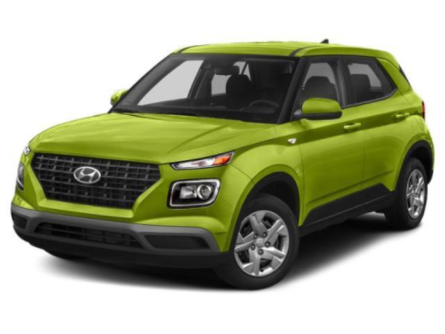 2020 Hyundai VENUE ULTIMATE GREY-LIME INTERIOR