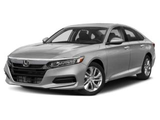 New 2020 Honda Accord LX-AEB ACCORD 4 DOORS for sale in Woodstock, ON