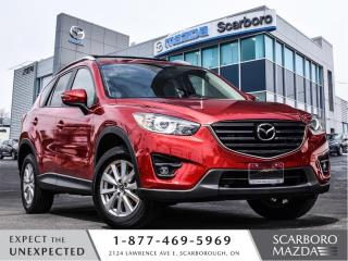 Used 2016 Mazda CX-5 NEW BRKAES|AWD|NAVI|ROOF RACK|1 OWNER|CLEAN CARFAX for sale in Scarborough, ON