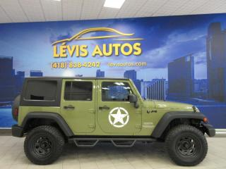 Used 2013 Jeep Wrangler UNLIMITED SPORT AIR CLIMATISE AUTOMATIQU for sale in Lévis, QC