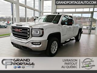 Used 2016 GMC Sierra 1500 SLE cabine double 4RM, 143,5 po for sale in Rivière-Du-Loup, QC