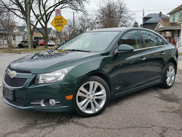 2014 Chevrolet Cruze 2LT RS **ALL LEATHER**MY LINK**SXM RADIO**REAR CAM**PUSH BUTTON START**