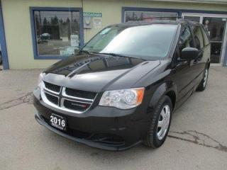 Used 2016 Dodge Grand Caravan FAMILY MOVING SXT EDITION 7 PASSENGER 3.6L - V6.. CAPTAINS.. STOW-N-GO.. CD & AUX INPUT.. KEYLESS ENTRY.. ECON-BOOST PACKAGE.. for sale in Bradford, ON