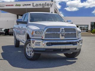 Used 2018 RAM 3500 Laramie LOADED / Diesel engine and automatic transmission yield monumental torque for sale in Surrey, BC