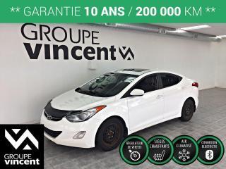 Used 2013 Hyundai Elantra GLS ** GARANTIE 10 ANS ** Économique et bien équipé! for sale in Shawinigan, QC