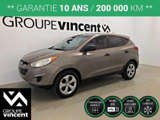 Used 2012 Hyundai Tucson L CLIMATISEUR ** GARANTIE 10 ANS ** Wow, très beau et à bas kilométrage! for sale in Shawinigan, QC