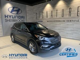 Used 2017 Hyundai Santa Fe 2WD+CAMERA+BANCS CHAUFF+BLUETOOTH+CRUISE for sale in Sherbrooke, QC