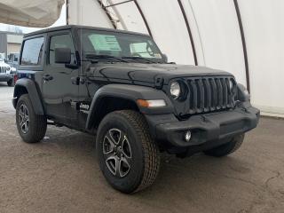 New 2020 Jeep Wrangler Sport SPORT 'S' 4X4 for sale in Ottawa, ON