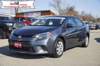 Used 2016 Toyota Corolla LE for sale in Hamilton, ON