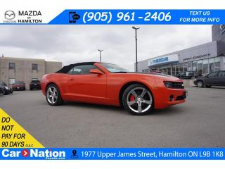 Used 2011 Chevrolet Camaro LT RS| LEATHER | 6 SPEED | CONVERTIBLE | HEATED SEATS for sale in Hamilton, ON