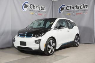 Used 2017 BMW i3 W/RANGE EXTENDER NAVIGATION**27725 KM** for sale in Montréal, QC